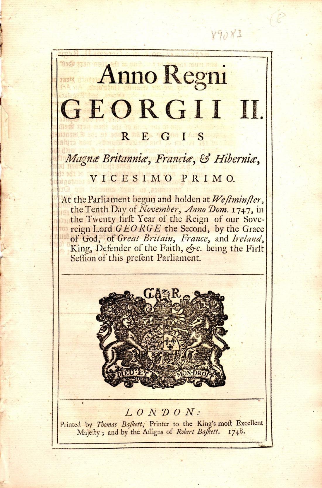 Act 1748a