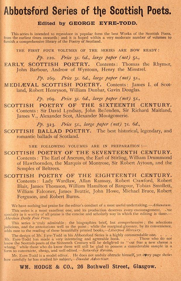 Scots Lore 16