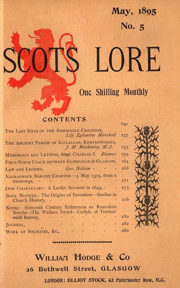Scots Lore 9