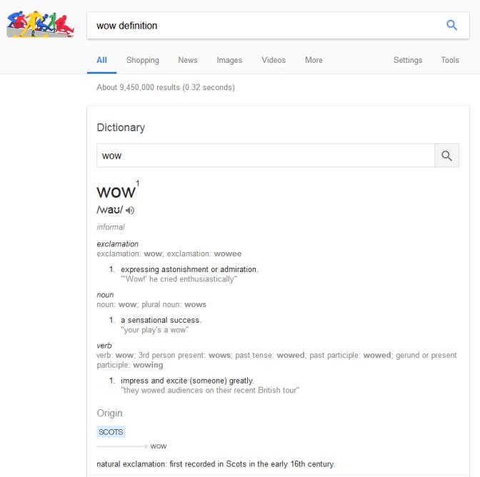 Google Wow