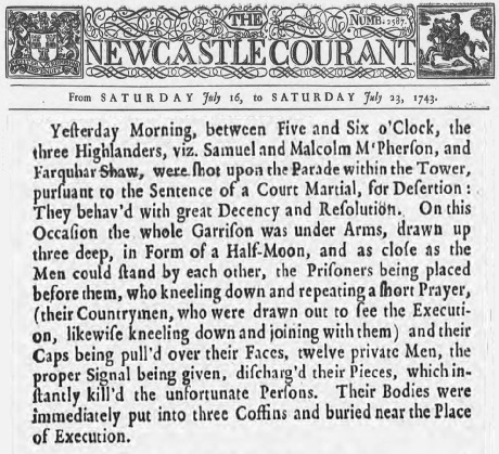 NewcastleCourant23July1743