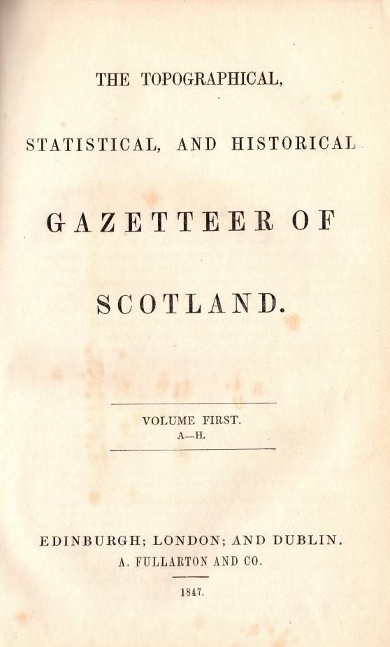 Gazetteer of Scotland0007