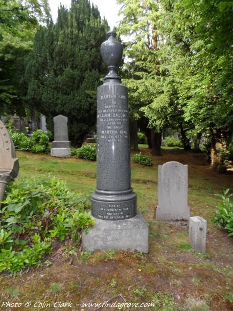 William Caldwell grave