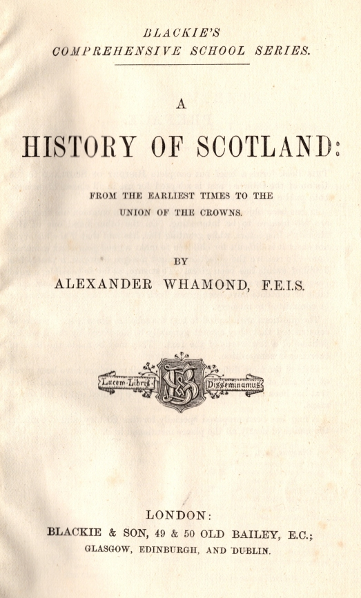 A History of Scotland (1881)0002