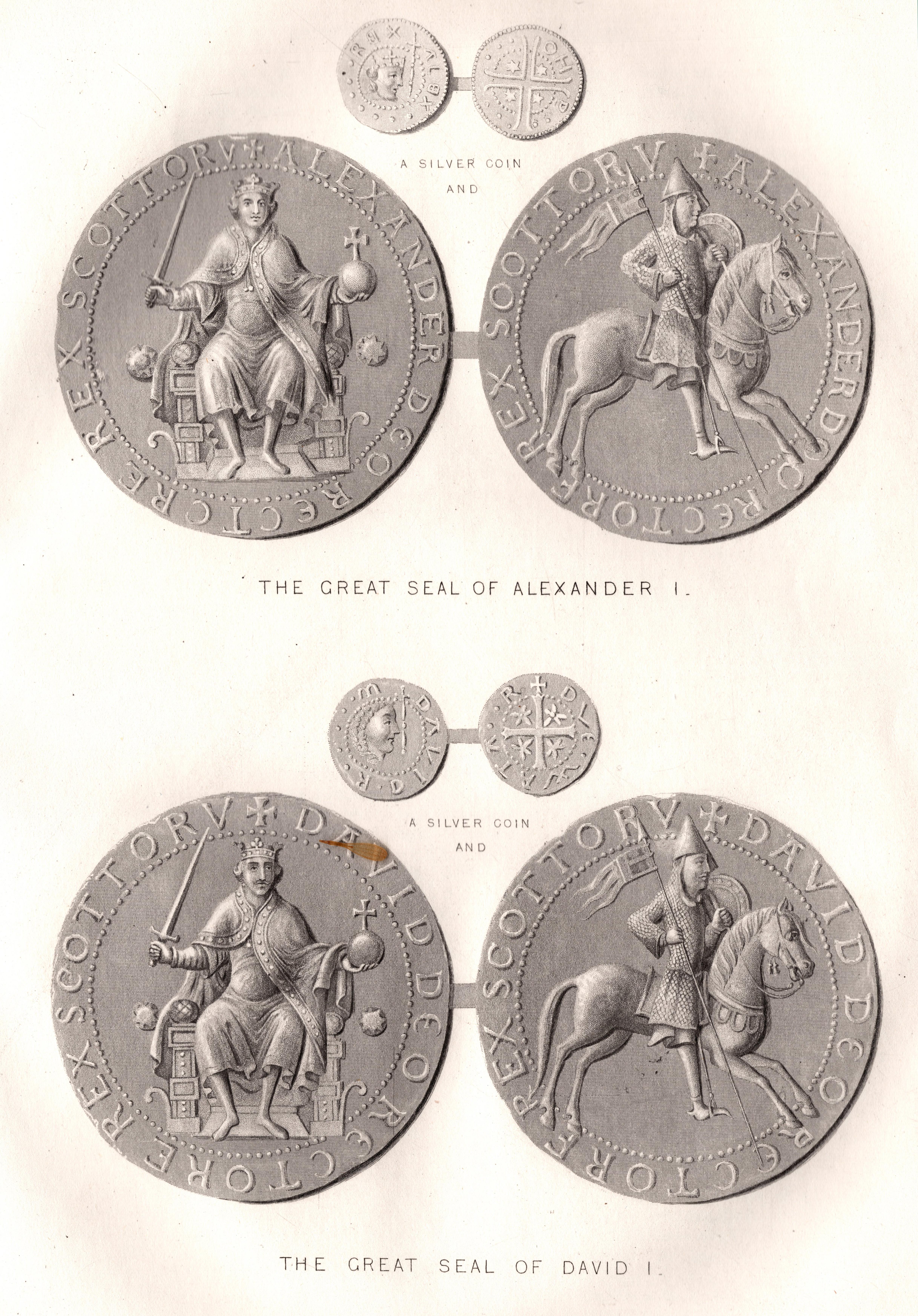 Scottish Seals & Coinsa