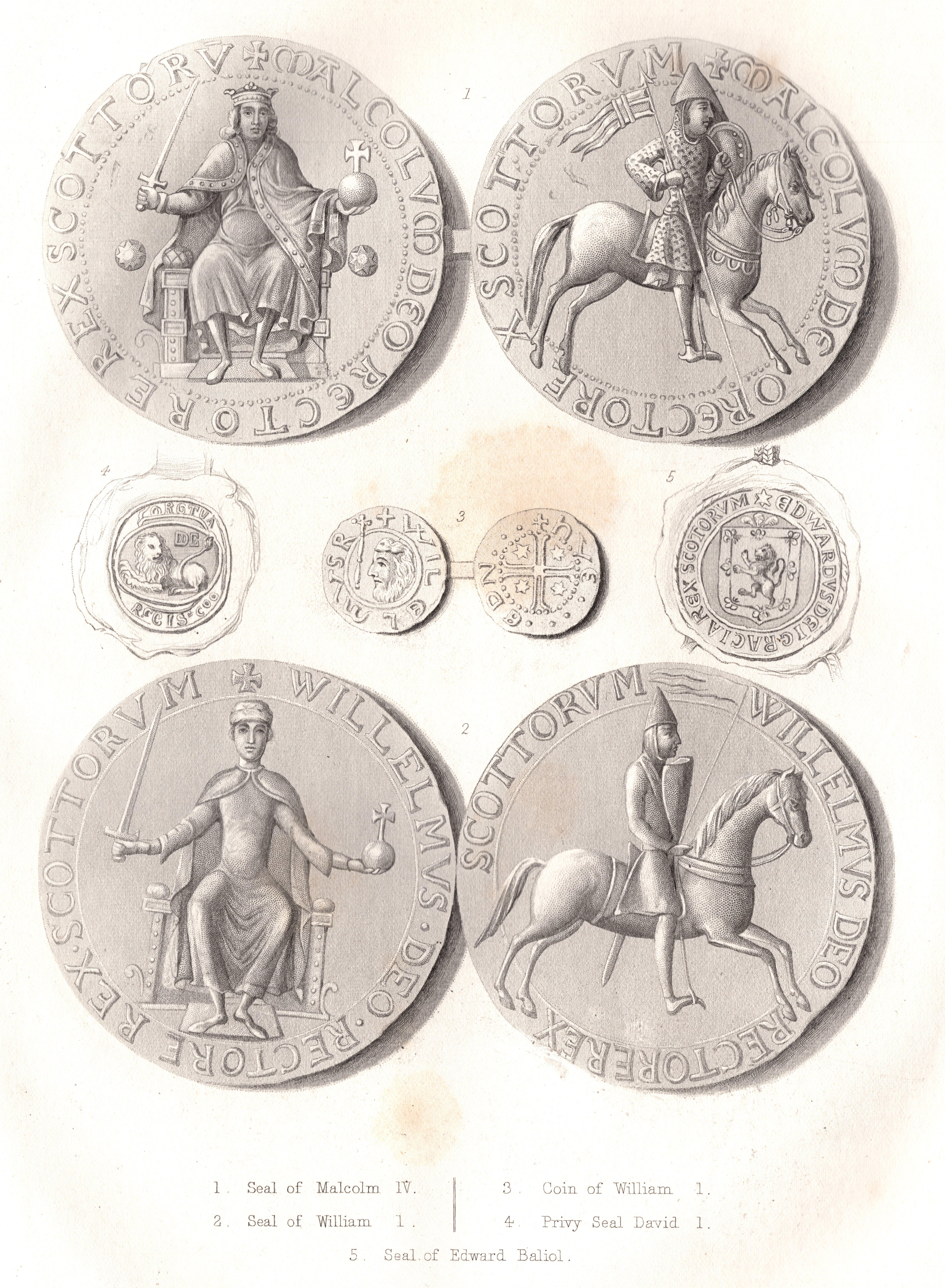 Scottish Seals & Coinsb