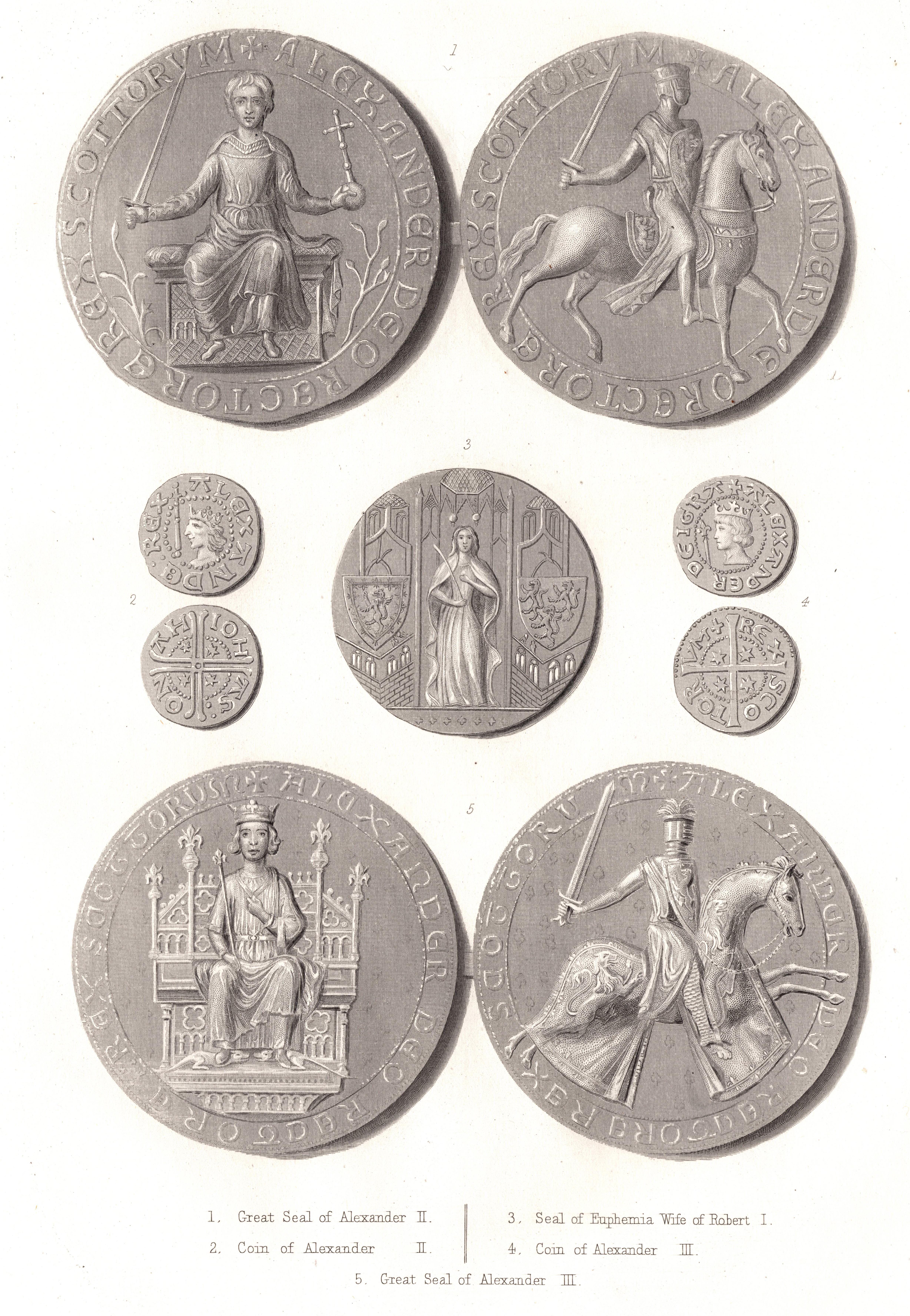 Scottish Seals & Coinsd