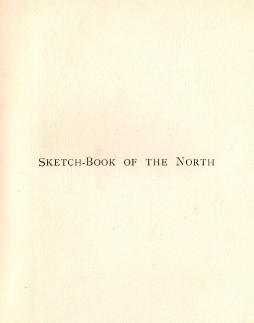 Sketchbook of the North0002