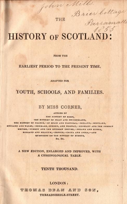 Corner's History of Scotland0001